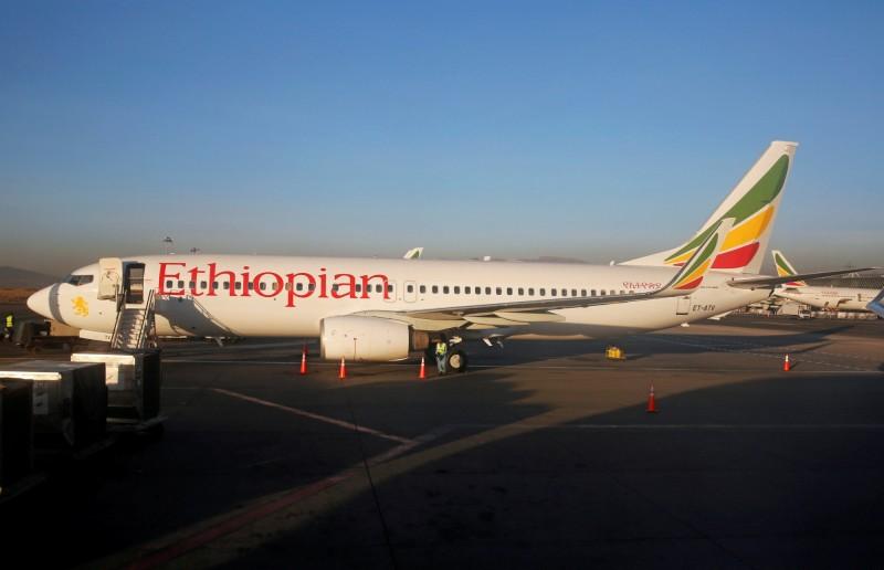 載有157人的衣索比亞航空班機於起飛後不久墜毀,目前尚未有確切的死傷數字。衣索比亞航空客機示意圖。(路透)