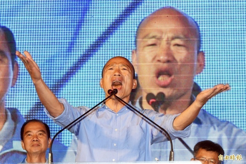 高雄市長韓國瑜上任後,團隊出了不少包,尤其是邀約代言人竟然發生許多「被迫代言」的情況,不少藝人明星沒有接獲代言邀約,高雄市府卻不斷放話稱對方已經答應。(資料照)