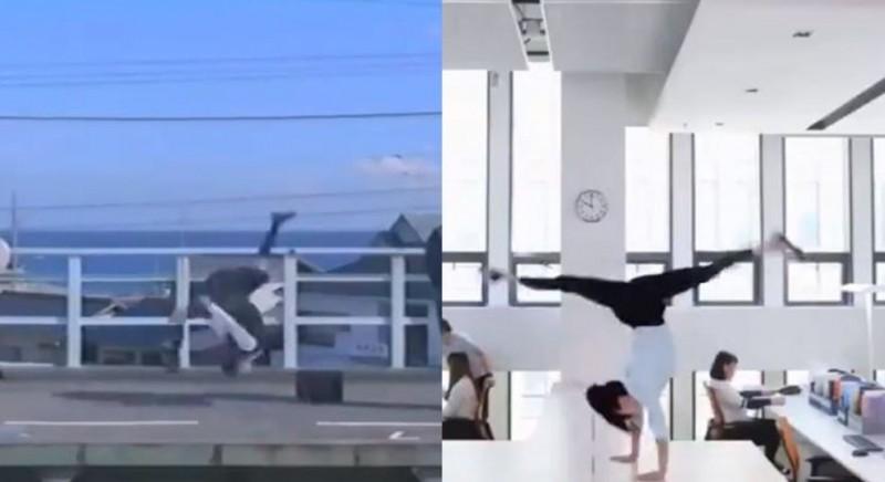 中國廣告(右)抄襲日本17年前廣告(左),被眼尖網友發現檢舉。(圖擷取自影片)