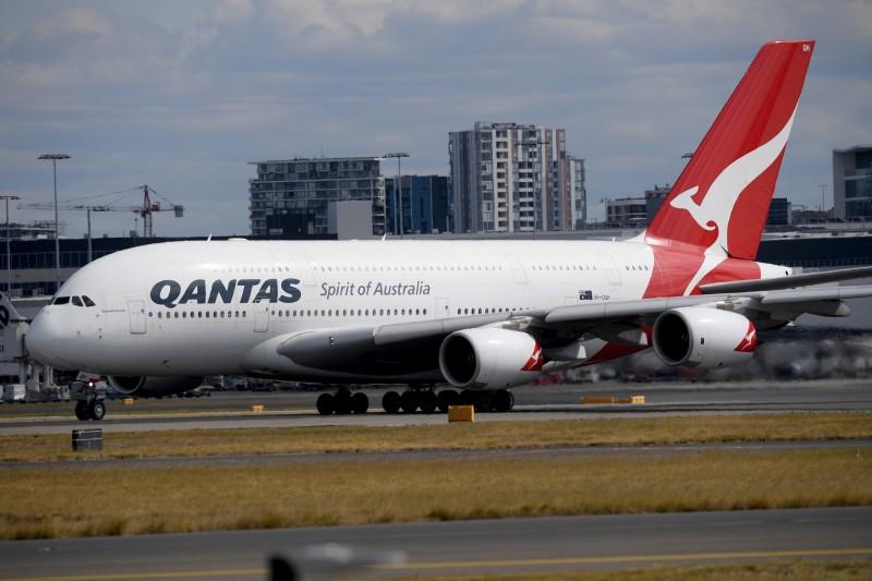 澳洲1名10歲男童寫信給澳洲航空的執行長,詢問對方如何經營一家航空公司。(歐新社)