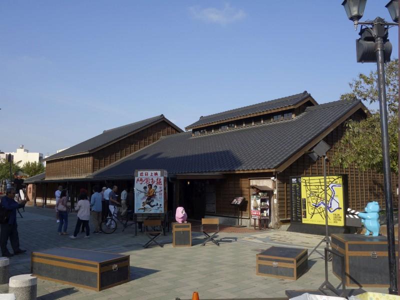 台南市鹽水區「永成戲院」登錄為台南市歷史建築。(台南市文資處提供)