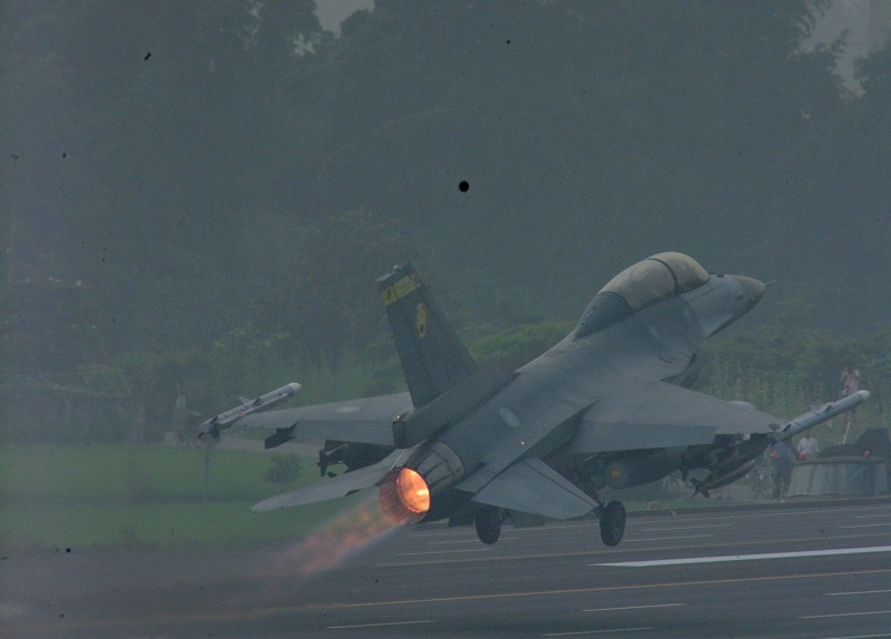 F16戰機(資料照,軍聞社提供)