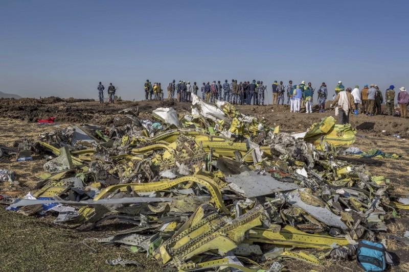 不到半年內波音737 MAX8再一次發生重大空難,多國下令停飛。(美聯社)