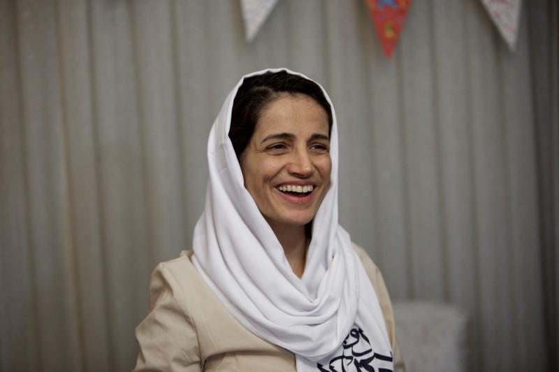 伊朗女性人權律師索托德(見圖)日前不幸被當局逮捕,11日判決出爐,竟被判處38年徒刑、148下鞭刑。(資料照,法新社)