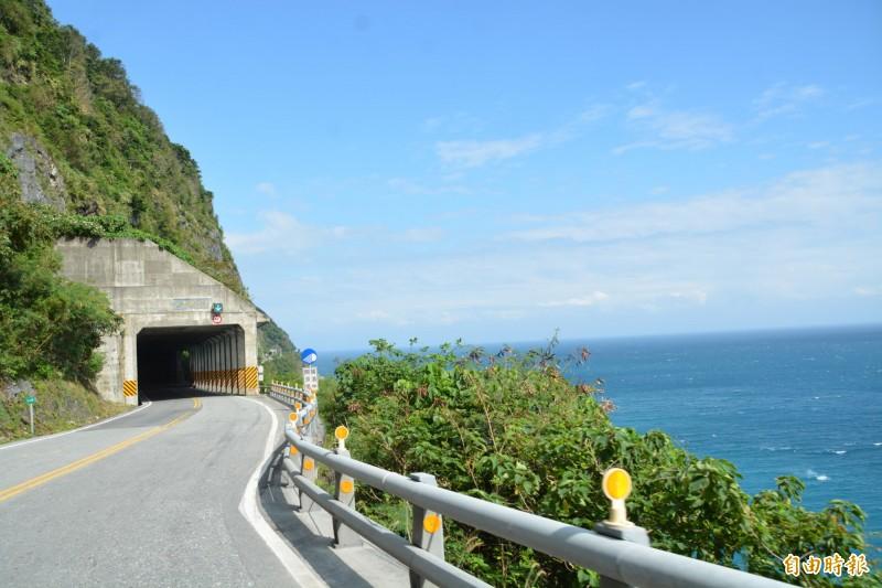 蘇花公路和平至崇德段的可行性研究,公路總局預計明年10月結果就能出爐。(記者王峻祺攝)