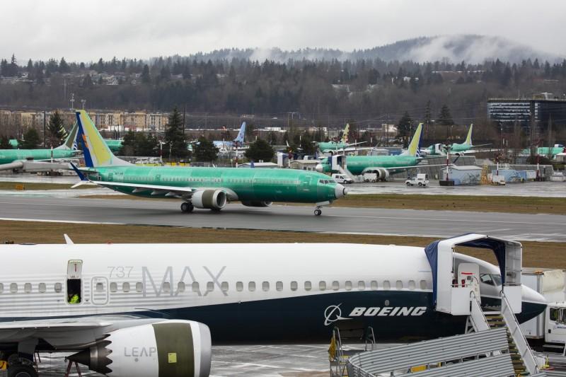 加拿大政府週三(13日)宣布,禁止波音737 MAX8和波音737 MAX9客機在該國領空飛行。(彭博)