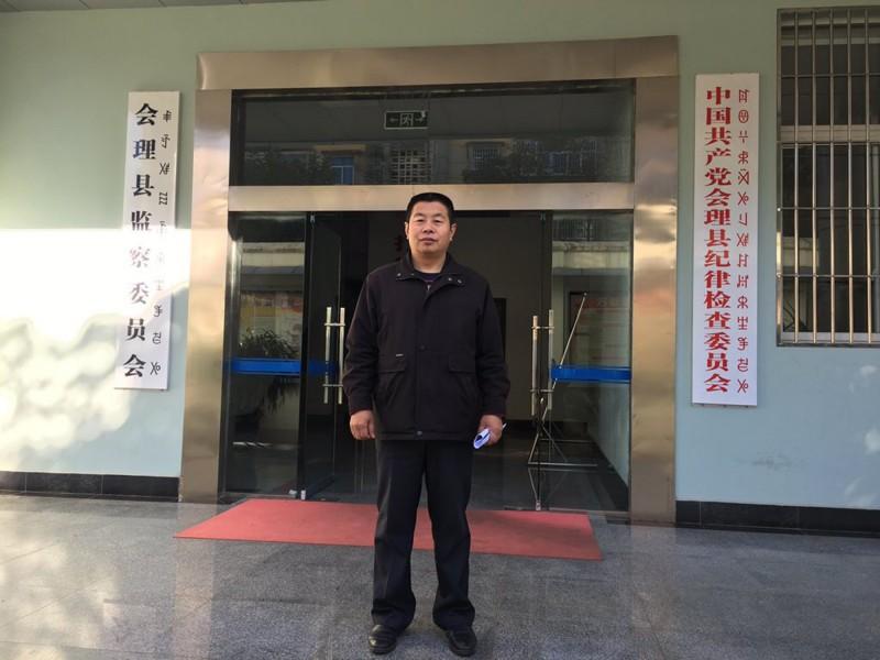 河北人權律師盧廷閣被中國當局約談後失蹤至今。(圖擷取自盧廷閣推特)