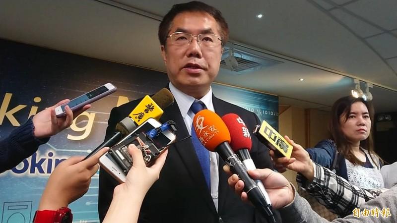 台南市長黃偉哲肯定南市議會辦小燈會。(記者洪瑞琴攝)