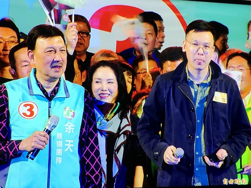 林飛帆表示,三重、台南和彰化這3席立委補選也可說是中國領導人習近平併吞台灣的前哨戰。(記者周湘芸攝)