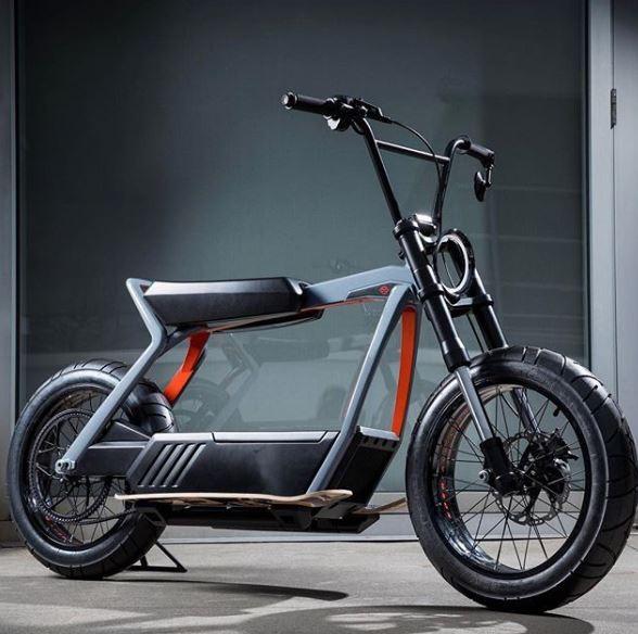 最近哈雷有意推出無踏板電動腳踏車,成為討論話題。(圖擷自IG)