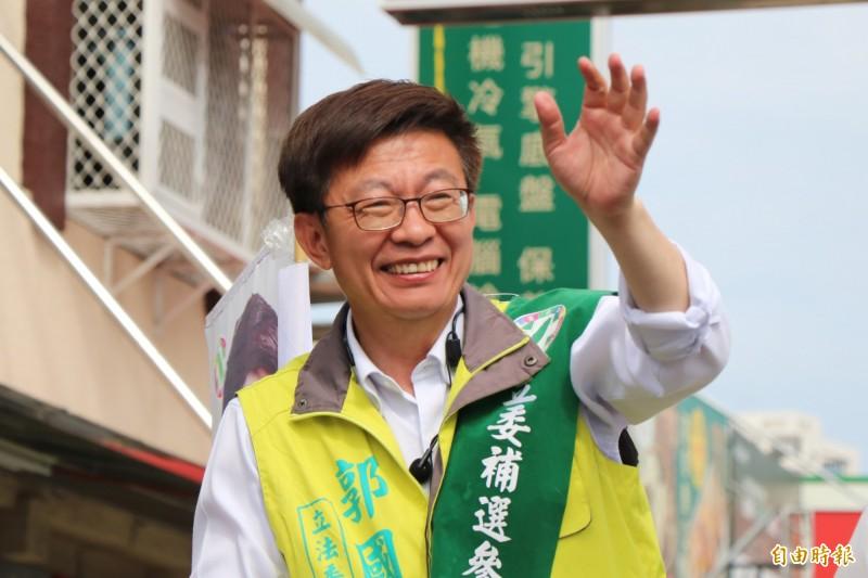 郭國文在勞工運動的付出與辛苦的投入,這些生命歷史,讓范雲相信,郭國文絕對比地方派系出身,選擇加入國民黨陣營的成員更值得支持。(資料照)