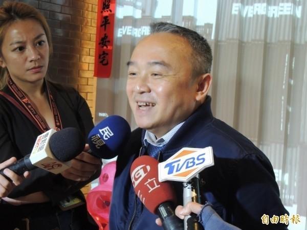 高雄市觀光局長潘恆旭去年曾宣稱,將於3月邀請《魔鬼終結者》阿諾史瓦辛格來台演講;昨晚遭新聞局長王淺秋打臉,證實「阿諾確定不來了」。(資料照)