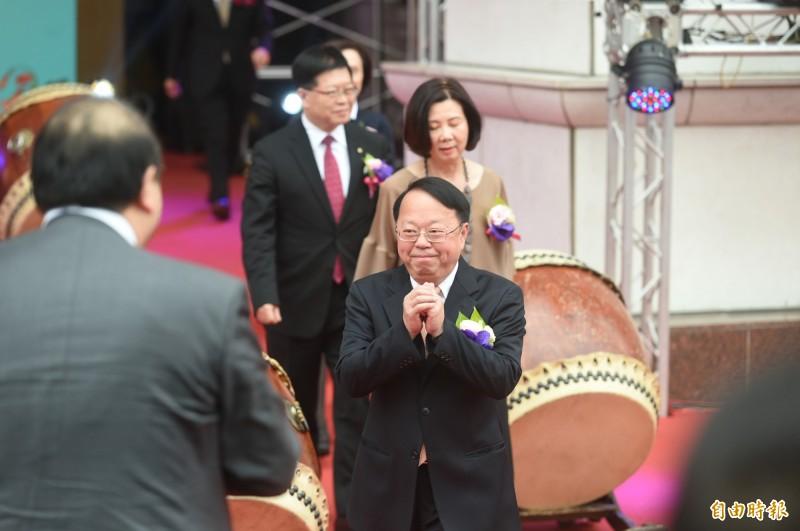 漢來創辦人侯西峰,近幾年來難得在公開場合露面。(記者張忠義攝)