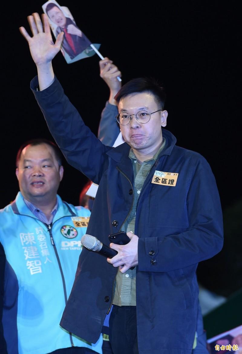 外傳林飛帆可能批時代力量戰袍參選第10屆立委選舉。(資料照)