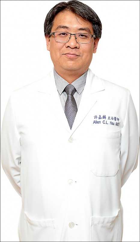 許嘉麟/輝馥診所五十肩主治醫師(記者陳宇睿/攝影)