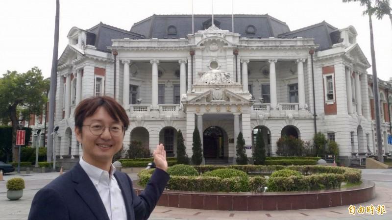 台中州廳升格國定古蹟,文化部預定三月底、四月初正式公告。(記者黃鐘山攝)