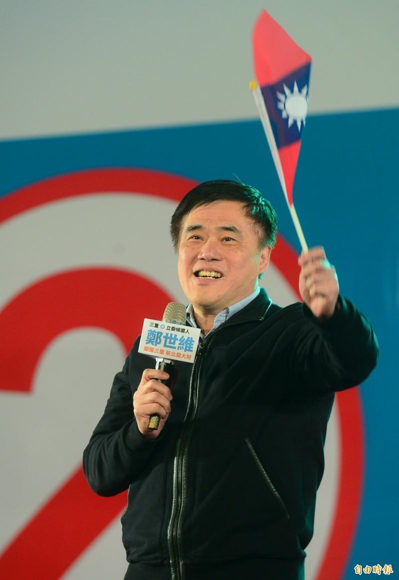 郝龍斌認為,這次316立委補選是個指標,每一位國民黨的支持者都要了解,2020國民黨沒有一絲輕敵的本錢,「強」可能還不足以勝,必須每個地方都找出「最強」。(資料照)