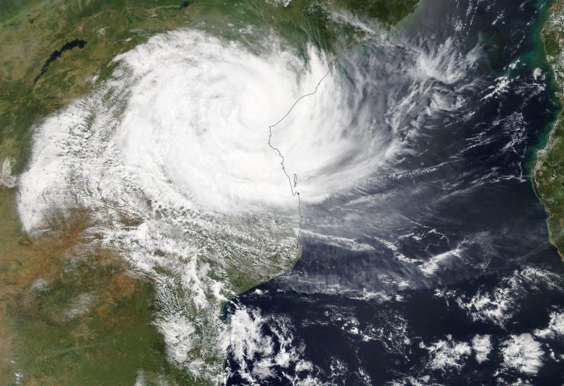 熱帶氣旋伊代(Idai)襲擊莫三比克、辛巴威、馬拉威,造成將近150人死亡、數百人失踪。(歐新社)