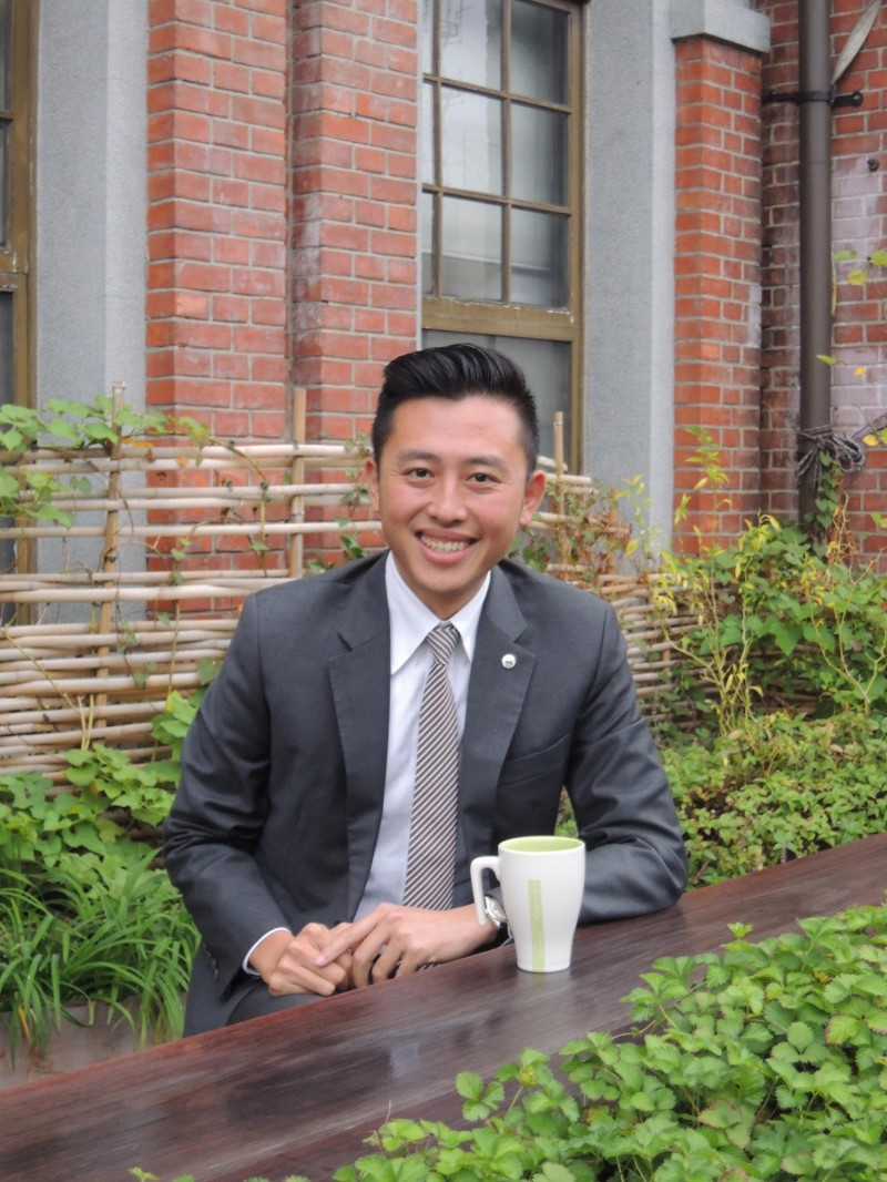 新竹市長林智堅對前行政院長賴清德登記民進黨總統初選感到意外,呼籲黨內高層坐下來好好談一談,大家一定要團結。(記者洪美秀攝)