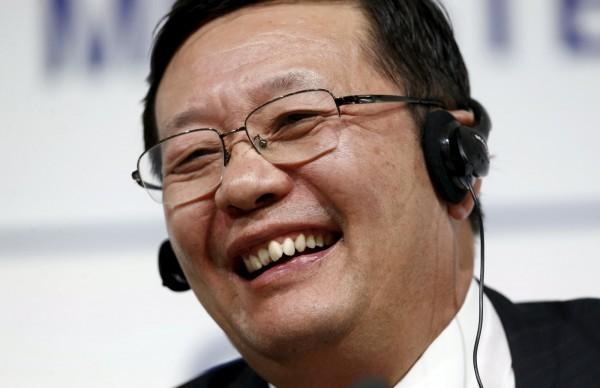 中國前財長樓繼偉(圖)重踹國務院總理李克強,指中國製造2025一開始就不該提出。(資料照,路透)