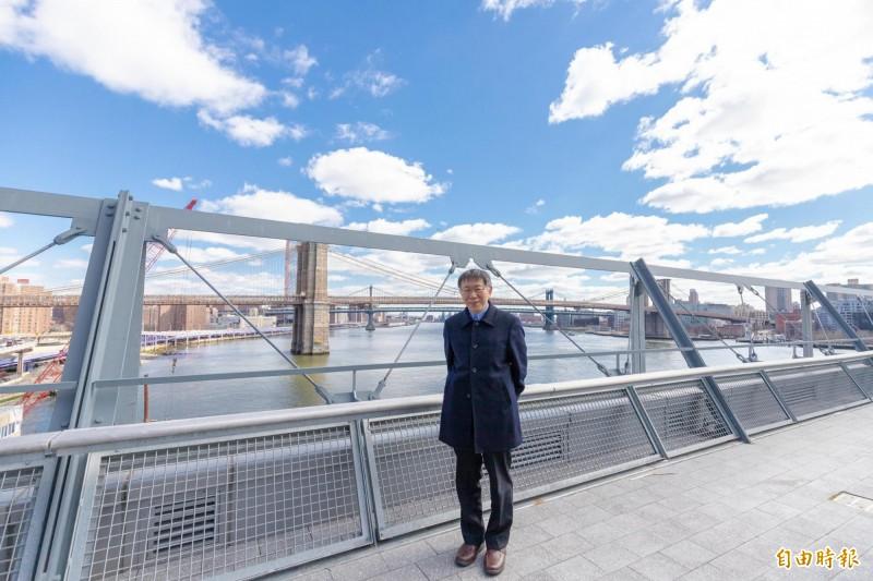 柯文哲感謝當地僑胞與駐處同仁的協助「其實不只是我,每一位台灣遊子出外打拼,旅居海外的僑胞都會給予溫暖,未來若有機會,也希望可以回饋他們」。(圖擷取自柯文哲臉書)