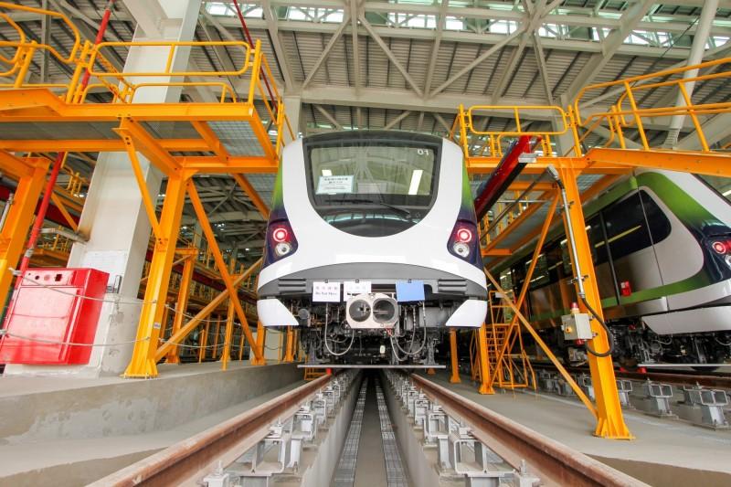 台中捷運綠線預定明年底通車營運。(台中市政府提供)