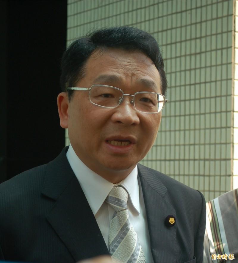 陳歐珀表示,是否尋求連任,29日會做出決定。(資料照,記者江志雄攝)
