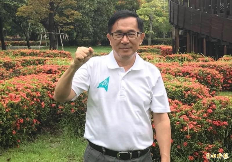 前總統陳水扁澄清自己絕對沒有藉挺賴清德來逼退蔡英文。(資料照)
