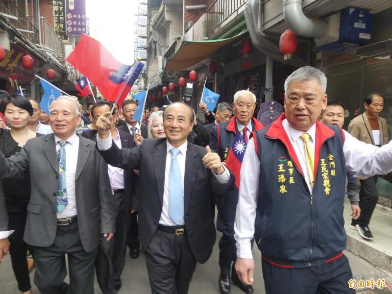 金門成立後援會 王金平:台灣處境像溫水煮青蛙