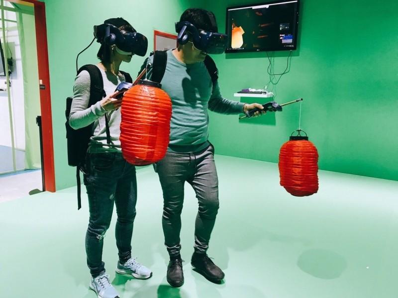 飯店與樂園聯手推出體感遊戲住房專案。(記者王榮祥翻攝)