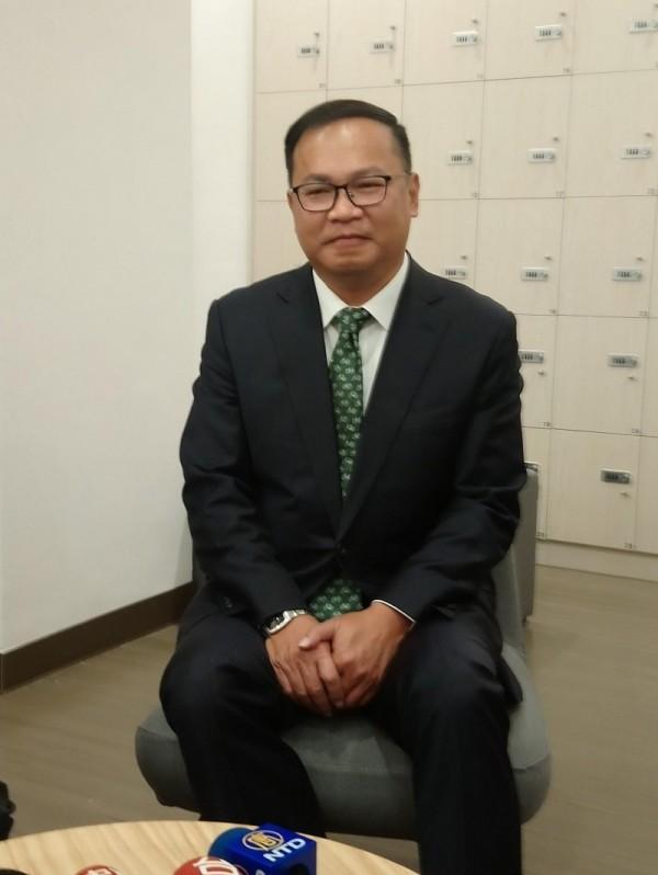 王義川接桃園航空城董座  林佳龍鼓勵「不要漏氣」