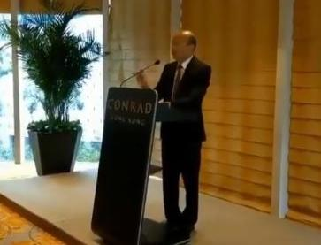 高雄市長韓國瑜今天(22)展開出訪行程,首站抵達香港,不料卻糗鬧笑話,稱「不丹」位於阿爾卑斯山旁。(擷取自「肯腦濕的人生相談室」)