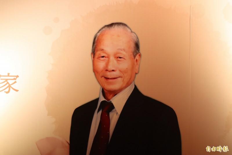 前省議員李玉泉上月因肺炎病逝家中,今天上午在三重天台影城舉行追思會。(記者周湘芸攝)