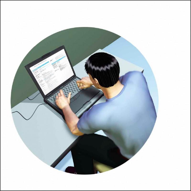 警方逮捕陳男,依恐嚇取財、妨害秘密、妨害電腦使用、妨害風化、洗錢等罪送辦。(示意圖)