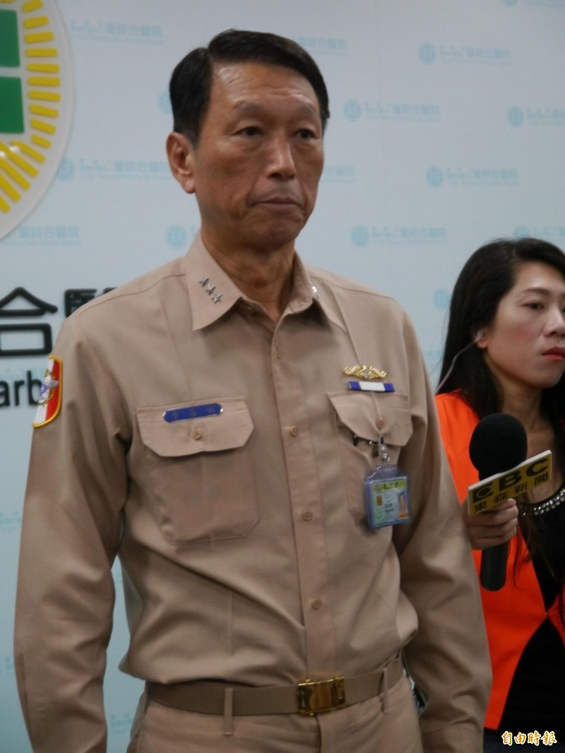 海軍參謀總長李喜明。(資料照)