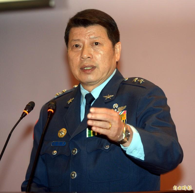 空軍司令張哲平召。(資料照)