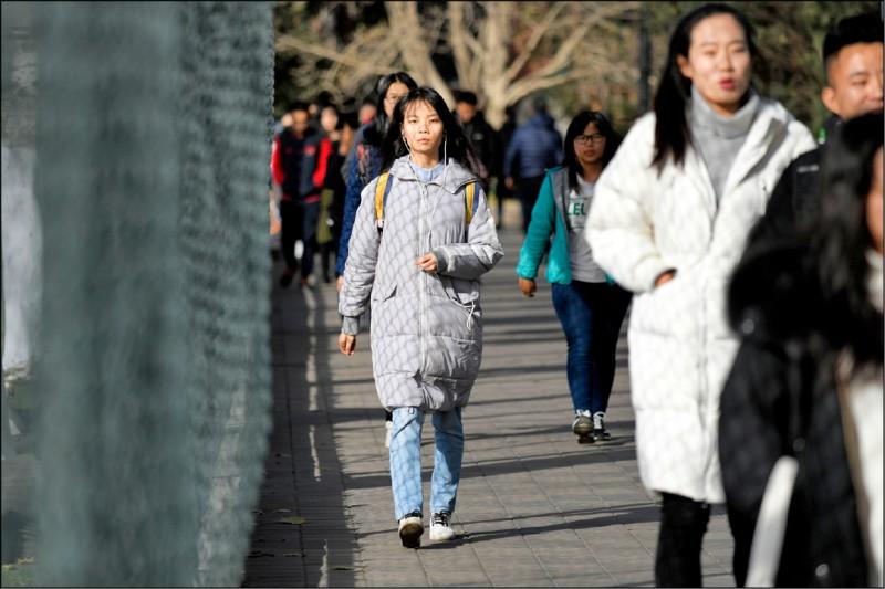 中國留學生爆出找槍手代考托福醜聞。圖為示意圖。(法新社檔案照)