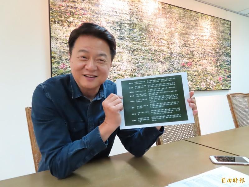 爭取國民黨總統提名的前台北縣長周錫瑋直言,國民黨從以前到現在就沒有總統初選制度,以前早就都破壞了。(記者賴筱桐攝)