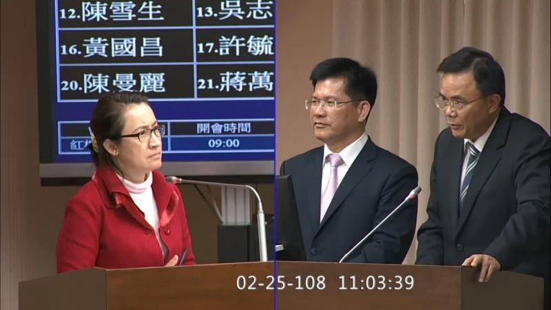 立委蕭美琴(左)網購酒精鎖只要799美金(約2.5萬元台幣)。(蕭美琴立委辦公室提供)