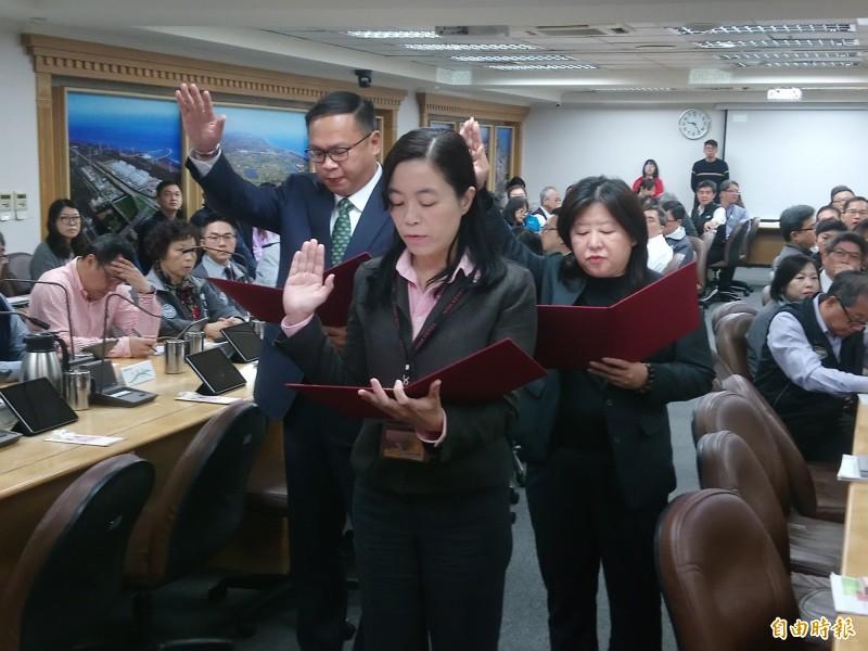 桃市3首長吳君婷、王義川、邱素芬 宣示就職