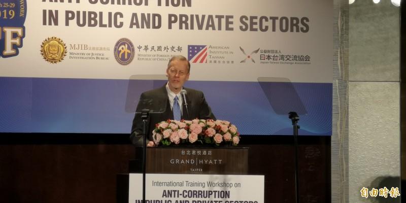 GCTF「打擊貪瀆」今登場 AIT處長讚台灣民主成熟