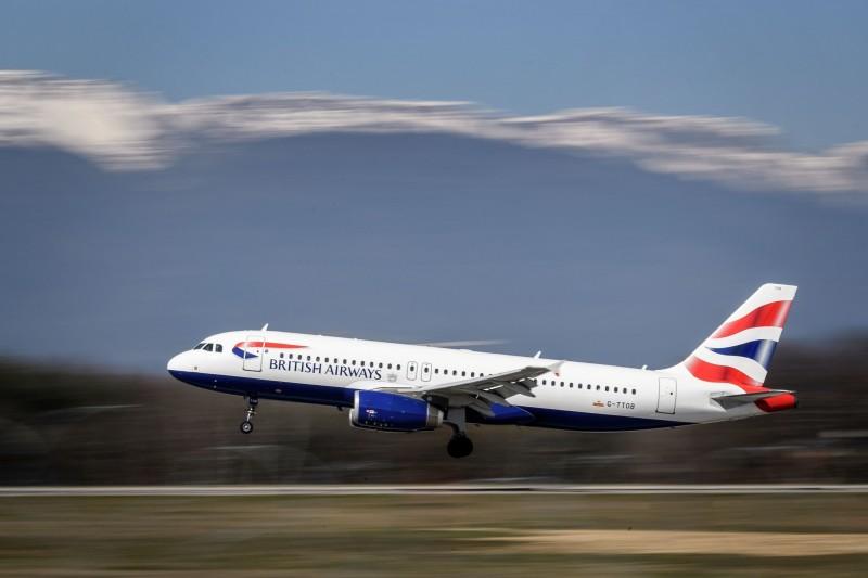 德國WDL航空一條由英國航空子公司英航城市飛行者(BA CityFlyer)代理的航線,原定要從倫敦飛往德國杜塞道夫,最後竟降落在蘇格蘭愛丁堡。(法新社)