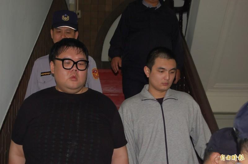 女模家人律師表示,朱家龍(左)已於本月與被害人家屬達成和解並賠償完畢,但確切金額因未獲授權,暫時無法透露。(資料照)