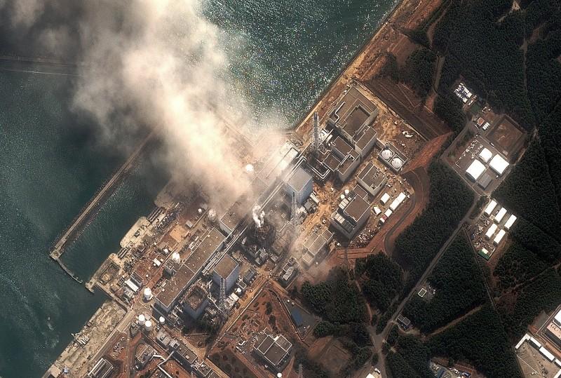 專家指出這是首次在白令海最北端測出核污染物,圖為福島第一核電站。(法新社)