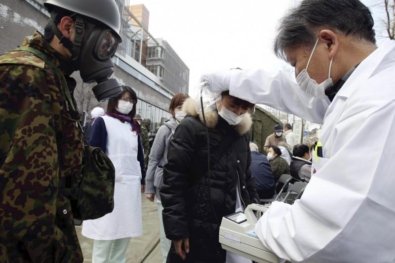 日本311大地震引發海嘯造成福島核災,該起災害震驚全球,日前白令海首度測得放射性銫-137值有升高跡象。(法新社)