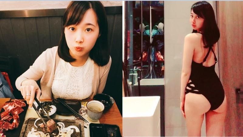 有PTT網友在表特板貼出多張香港中文女老師的美照,身材凹凸有致長相甜美讓不少台灣網友為之瘋狂。(圖擷取自miss_punpun IG)