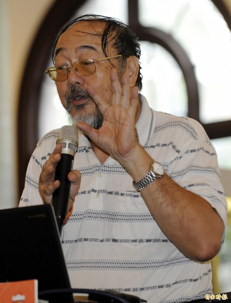 柯慶明今天傳出在家中跌倒往生,享壽73歲。(資料照)