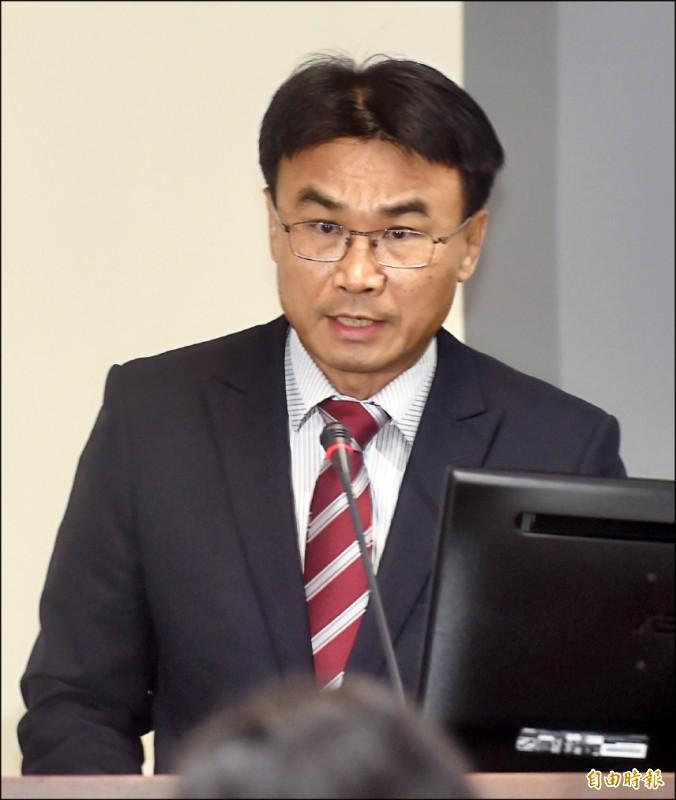立法院經濟委員會,昨邀請農委會主委陳吉仲報告並備詢。(記者簡榮豐攝)