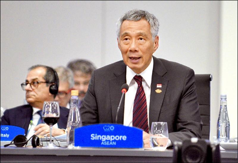 新加坡將立法打擊假新聞。圖為星國總理李顯龍。(法新社檔案照)