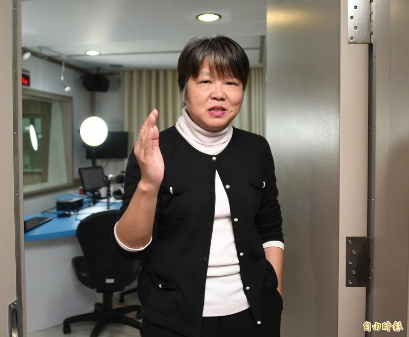 黃光芹今(2日)表示,看到民進黨高市議員鄭孟洳也收到韓粉「死亡威脅」的訊息,發現與恐嚇她家人者為同一人,令她認為「這些人必須抓到,否則為害台灣很大,我自然不能置身事外。」(資料照)